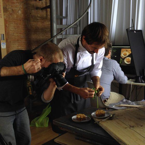 Fotografía gastronómica. Trabajo para Iberconseil