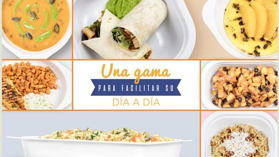 Design de recetas, cocina y fotografía para NUTRIPACK